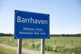 Barrhaven Welcome Home Sign